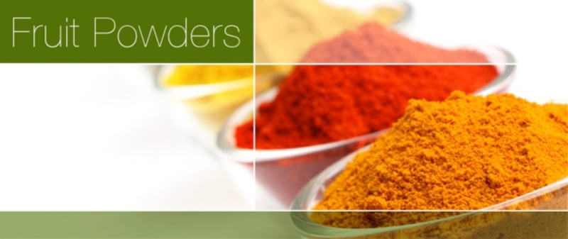 David James Food | Fruit Powders